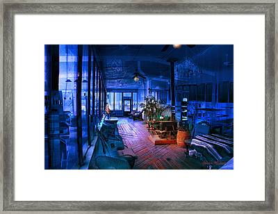 Framed Print featuring the photograph Paranormal Activity by Gunter Nezhoda