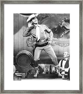 Pardners, Jerry Lewis, 1956 Framed Print