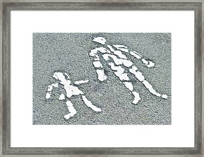 Parent And Child Framed Print
