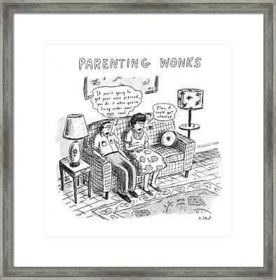 Parenting Wonks Framed Print