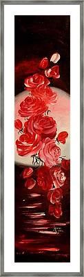 Parfum De Trandafiri Framed Print by Mariana Oros