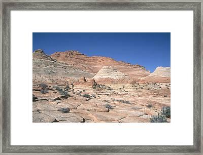 Paria Canyon-vermilion Cliffs Framed Print by David Davis