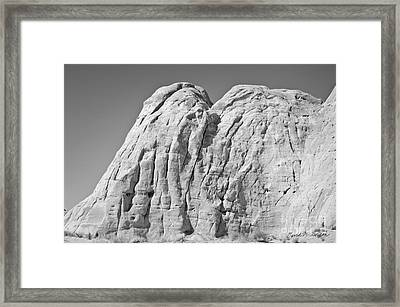 Paria Utah X Framed Print by Dave Gordon