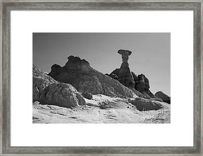 Paria Utah Xiv Bw Framed Print by David Gordon