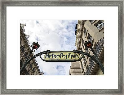 Paris - Chatelet Framed Print by Georgia Fowler