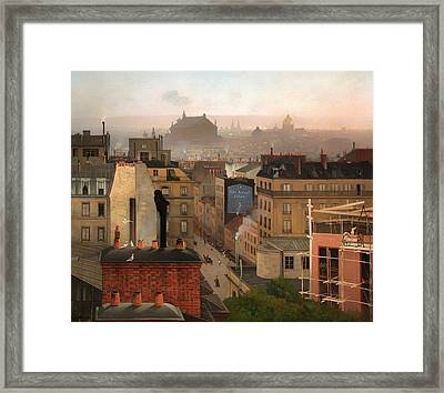 Paris 1887 Framed Print by Mountain Dreams