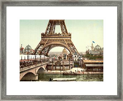 Paris 1889 World's Fair Framed Print by Library of Congress
