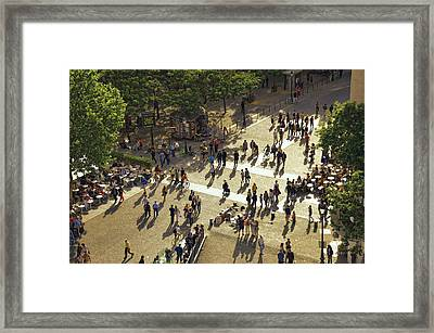 Framed Print featuring the photograph Paris Afternoon by John Hansen