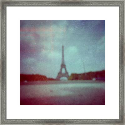 Paris Framed Print by Alex Conu