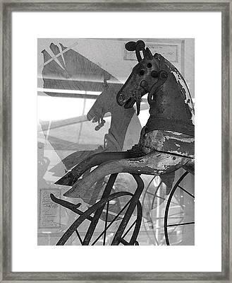 Paris Antique  Framed Print by  Amy G Taylor