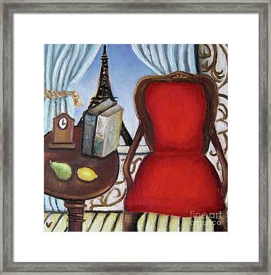 Paris Apartment Framed Print by Venus