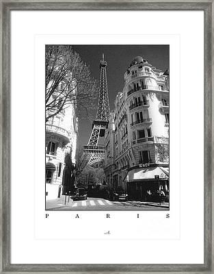 Paris Framed Print by ARTSHOT - Photographic Art