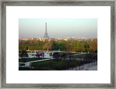 Paris Autumn Framed Print