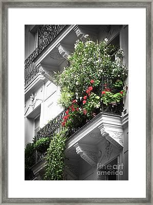 Paris Balcony Framed Print