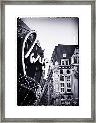 Paris Balloon Framed Print by John Rizzuto