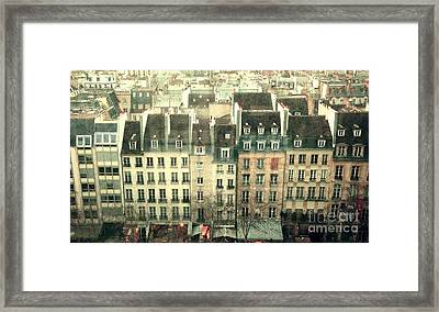 Paris Beaubourg Framed Print by Louise Fahy