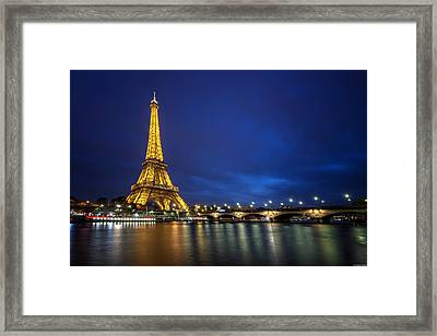 Paris Blues Framed Print by Ryan Wyckoff
