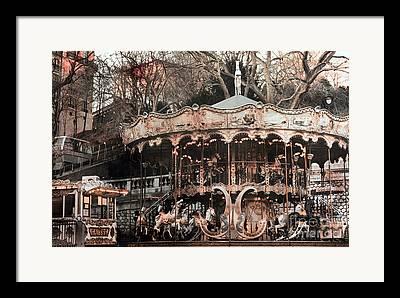 Paris At Night Framed Prints