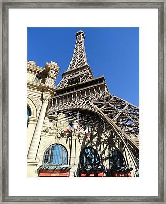 Paris Casino Framed Print