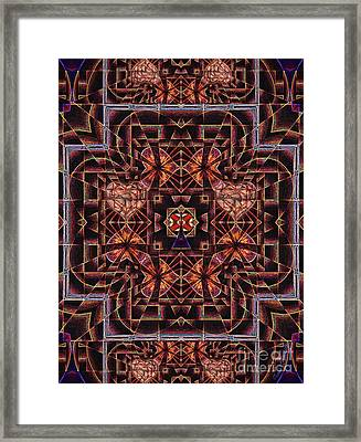 Framed Print featuring the digital art Paris City Of Hearts by Joseph J Stevens