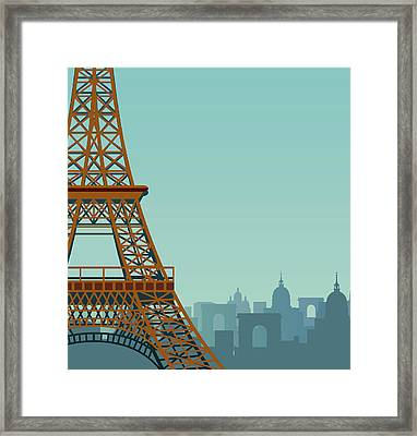 Paris Framed Print by Drmakkoy