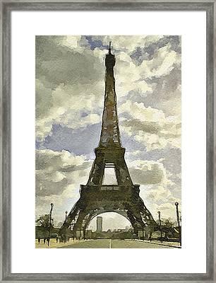 Paris Eiffel Tower 4 Framed Print by Yury Malkov