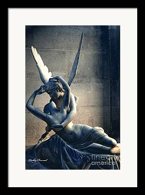 Eros And Psyche Framed Prints