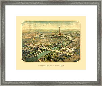 Paris Exposition Framed Print by Gary Grayson