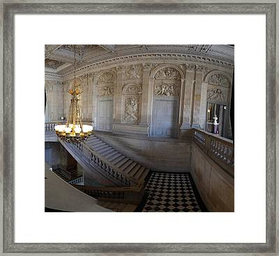 Paris France - 011355 Framed Print