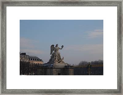 Paris France - 011374 Framed Print by DC Photographer