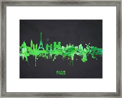 Paris France Framed Print by Aged Pixel