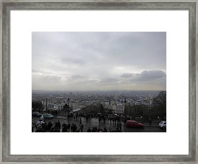 Paris France - Basilica Of The Sacred Heart - Sacre Coeur - 12123 Framed Print by DC Photographer