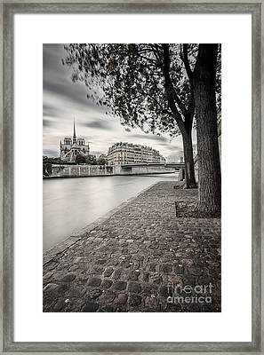 Paris France Framed Print by Brian Jannsen