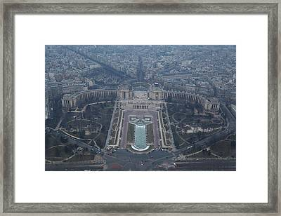 Paris France - Eiffel Tower - 011310 Framed Print by DC Photographer