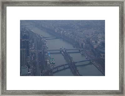 Paris France - Eiffel Tower - 011311 Framed Print