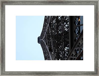 Paris France - Eiffel Tower - 011314 Framed Print by DC Photographer