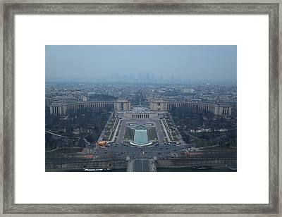 Paris France - Eiffel Tower - 011315 Framed Print by DC Photographer
