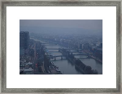 Paris France - Eiffel Tower - 011316 Framed Print