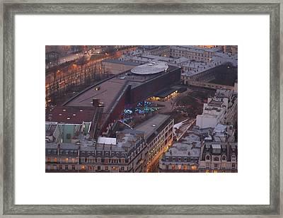 Paris France - Eiffel Tower - 011319 Framed Print by DC Photographer