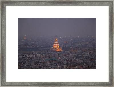 Paris France - Eiffel Tower - 011320 Framed Print by DC Photographer