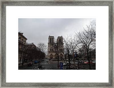 Paris France - Notre Dame De Paris - 011311 Framed Print