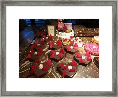 Paris France - Pastries - 12121 Framed Print by DC Photographer