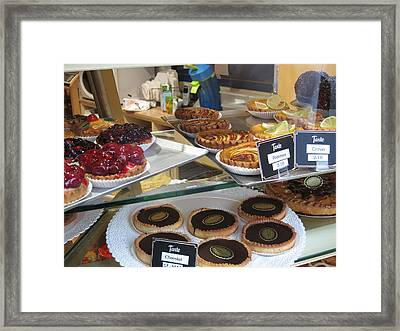 Paris France - Pastries - 121210 Framed Print by DC Photographer