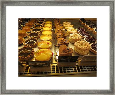 Paris France - Pastries - 121220 Framed Print by DC Photographer