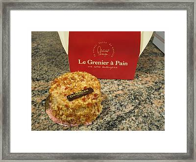 Paris France - Pastries - 1212202 Framed Print by DC Photographer
