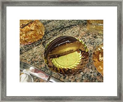 Paris France - Pastries - 1212236 Framed Print by DC Photographer