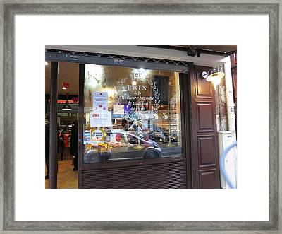 Paris France - Pastries - 121234 Framed Print by DC Photographer