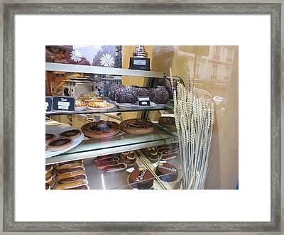 Paris France - Pastries - 12126 Framed Print by DC Photographer