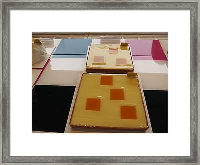 Paris France - Pastries - 121287 Framed Print