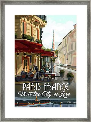 Paris, France Framed Print by P.s